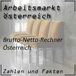 Brutto-Netto-Rechner Österreich