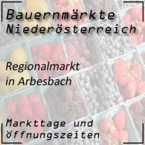 Bauernmarkt Arbesbach mit den Öffnungszeiten