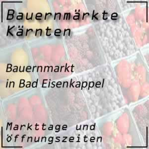 Bauernmarkt in Bad Eisenkappel