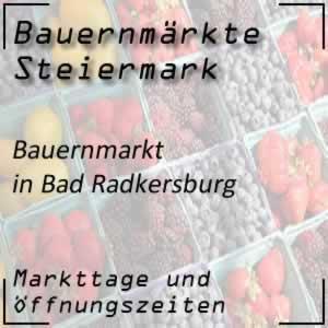 Bauernmarkt Bad Radkersburg