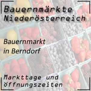 Bauernmarkt Berndorf mit den Öffnungszeiten