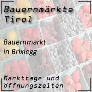 Bauernmarkt Brixlegg mit den Öffnungszeiten