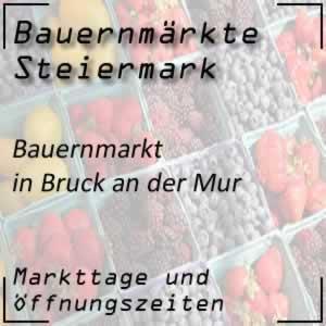 Bauernmarkt in Bruck an der Mur