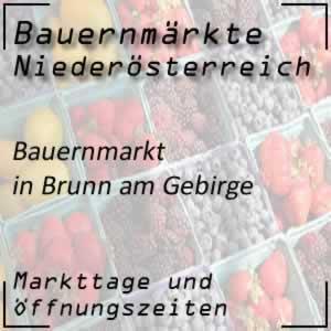Bauernmarkt Brunn am Gebirge