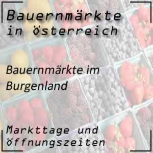 Bauernmarkt Burgenland