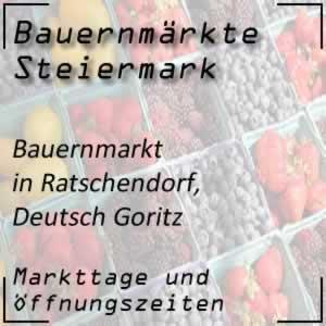 Bauernmarkt Ratschendorf / Deutsch Goritz