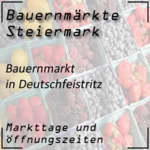 Bauernmarkt in Deutschfeistritz
