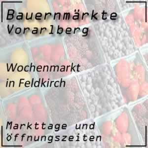 Wochenmarkt Feldkirch