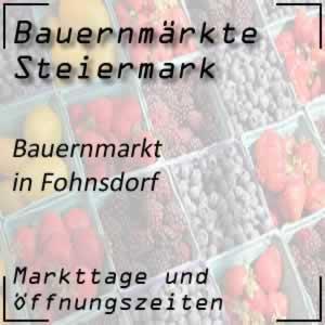 Bauernmarkt Fohnsdorf