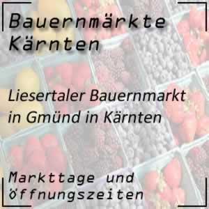 Liesertaler Bauernmarkt Gmünd in Kärnten