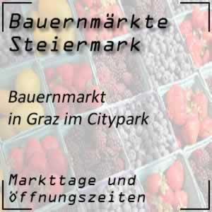 Bauernmarkt in Graz im Citypark