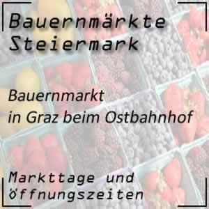 Bauernmarkt Graz beim Ostbahnhof