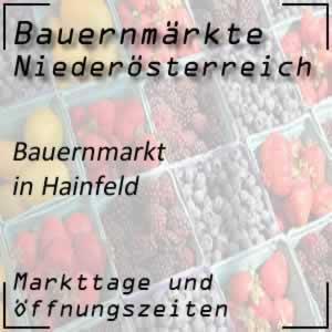 Wochenmarkt Hainfeld