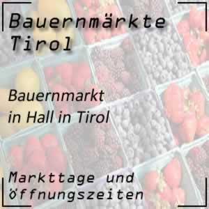 Bauernmarkt Hall in Tirol