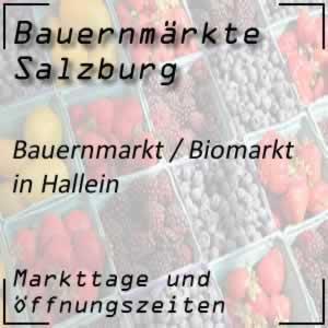 Bauernmarkt und Biomarkt in Hallein