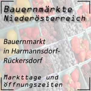 Bauernmarkt Harmannsdorf-Rückersdorf