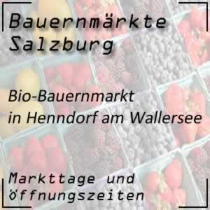 Bio-Bauernmarkt in Henndorf am Wallersee