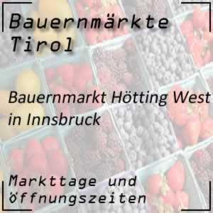 Bauernmarkt Innsbruck Hötting West