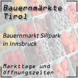 Bauernmarkt Innsbruck Sillpark