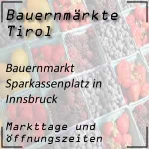 Bauernmarkt Innsbruck Sparkassenplatz