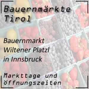 Bauernmarkt Innsbruck Wiltener Platzl
