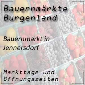 Bauernmarkt Jennersdorf mit den Öffnungszeiten