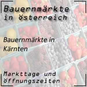 Bauernmarkt Kärnten