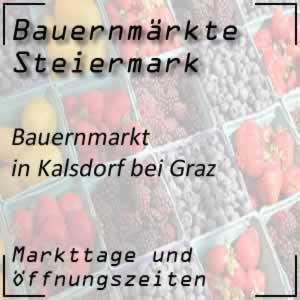 Bauernmarkt Kalsdorf bei Graz