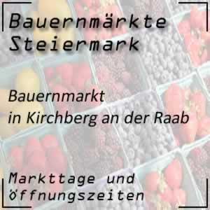 Bauernmarkt Kirchberg an der Raab