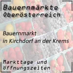 Bauernmarkt Kirchdorf an der Krems mit den Markttagen