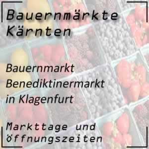 Benediktinermarkt Klagenfurt