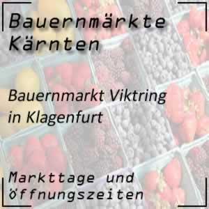 Bauernmarkt Viktring in Klagenfurt
