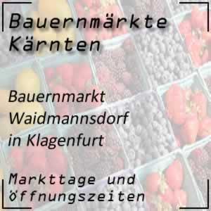 Bauernmarkt Waidmannsdorf Klagenfurt