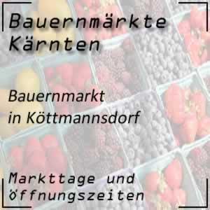 Bauernmarkt Köttmannsdorf mit den Öffnungszeiten