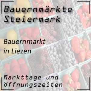 Bauernmarkt Liezen mit den Öffnungszeiten
