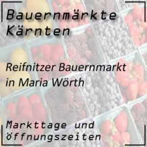 Bauernmarkt Maria Wörth / Reifnitz