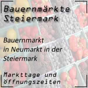 Bauernmarkt in Neumarkt in der Steiermark