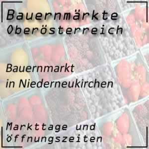 Bauernmarkt Niederneukirchen mit den Öffnungszeiten