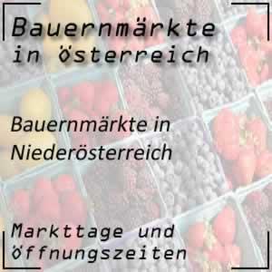 Bauernmarkt Niederösterreich