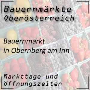 Bauernmarkt Obernberg am Inn mit den Markttagen
