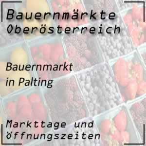 Bauernmarkt Palting mit den Öffnungszeiten