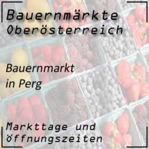 Bauernmarkt Perg mit den Öffnungszeiten