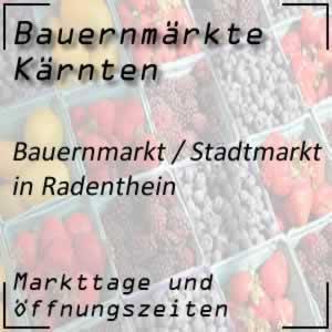 Bauernmarkt / Stadtmarkt in Radenthein