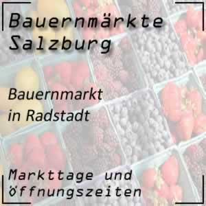 Bauernmarkt Radstadt mit den Öffnungszeiten