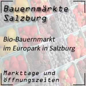 Bio-Bauernmarkt im Europark in Salzburg