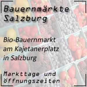 Bio-Bauernmarkt Salzburg Kajetanerplatz