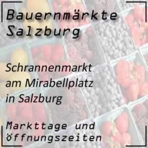 Schrannenmarkt Salzburg Mirabellplatz