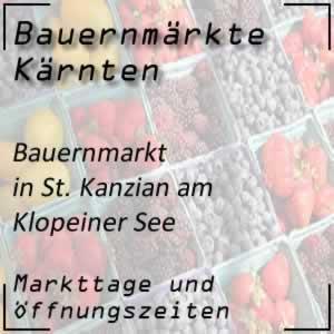 Bauernmarkt St. Kanzian am Klopeiner See