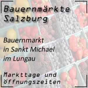 Bauernmarkt in Sankt Michael im Lungau