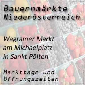 Wagramer Markt St. Pölten Michaelplatz